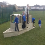 Playground Monkey Bars in Ards 5