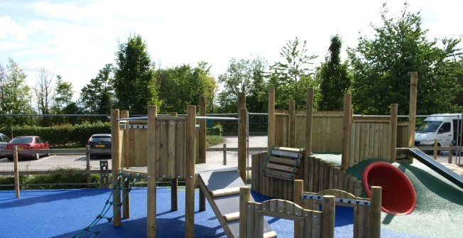 EYFS Active Play Equipment in Achargary