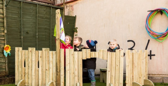 EYFS Playground Specialists in Staffordshire
