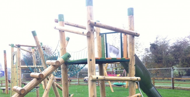 Monkey Bars Climbing Frame in Aaron's Hill