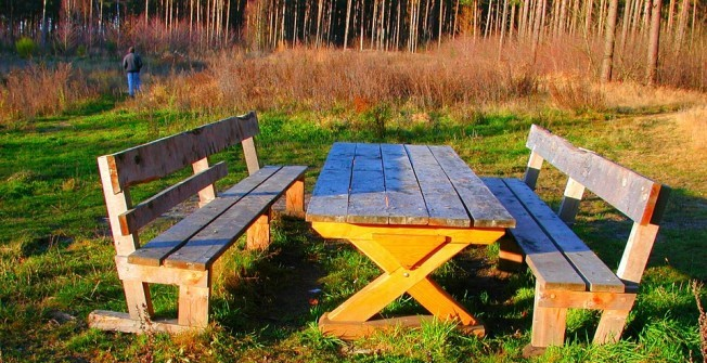 Outdoor School Furniture in Highland