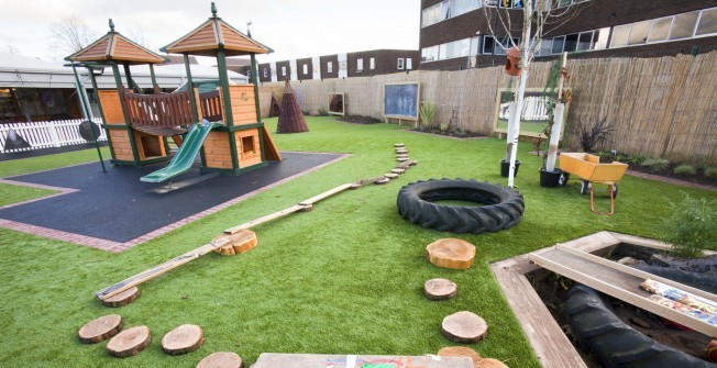 Outdoor Learning Facilities in Staffordshire